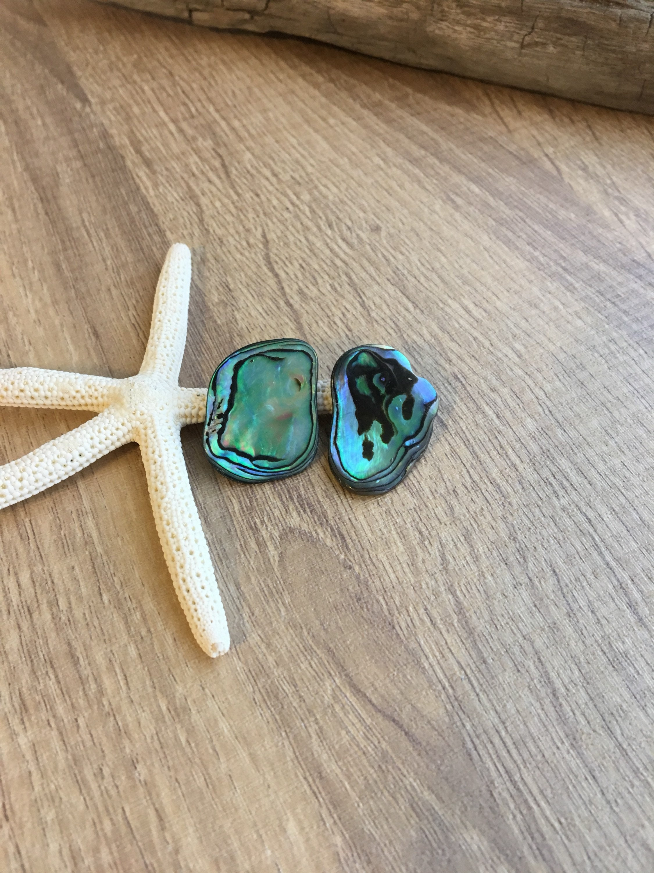 abalone beach gold in for the time shell stud just pin earrings post