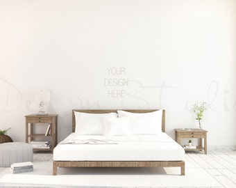 Styled stock Photography living room blank Wall Photography