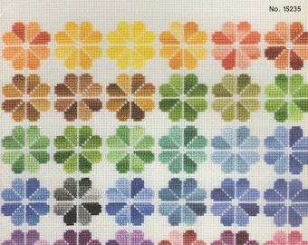Cross Stitch with Variegated Floss Book --DMC --No. 15235