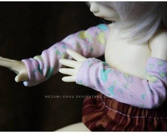 ABJD TG LTF and YoSD Pastel Cute Kawaii Fairy Kei armwarmers