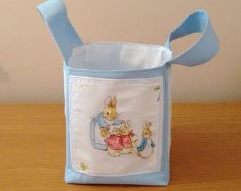 Beatrix potter fabric storage boxes