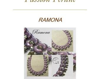 Pattern necklace RAMONA