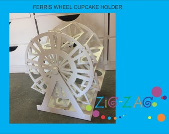 ferris wheel cupcake holder for carnival themed party