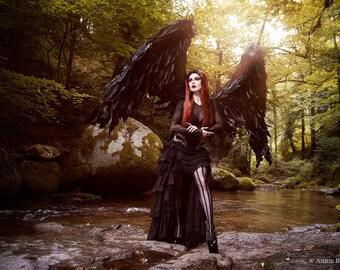 Fallen Angel A4 print