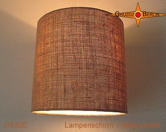Burlap lamp shade etsy little lamp shade jute heide 25 cm burlap natural aloadofball Gallery