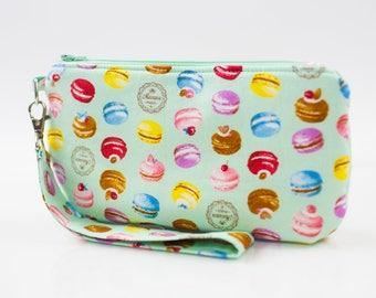 French Macaron Wristlet