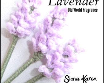 Lavender Crochet Pattern PDF