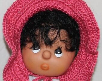 Retro Baby Bonnet Hat Crochet Pattern