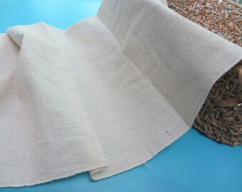 Thick Natural hand weaving Fabric, 100% cotton fabriic width 42cm,Hand Woven fabric,Hand Woven Cloth