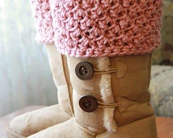Crochet PATTERN Cumberland Boot Cuff Crochet Boot Cuff Pattern also includes free pattern for cup cozy