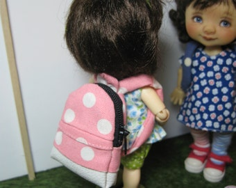 1/6 1:6 miniature blythe playscale play scale backpack mui chan pukifee ellemeno  barbie dollhouse lati yellow