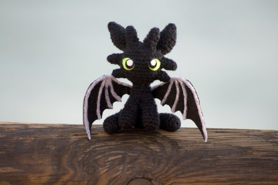 Amigurumi Toothless : Toothless amigurumi toothless doll toothless plush