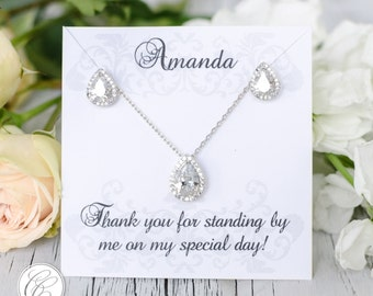 Bridesmaid Sets | Bridesmaid Jewelry | Bridal Sets | Bridesmaid Gifts | Personalized Gifts | Wedding Jewelry | Weddings