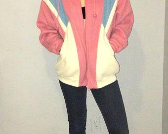 Vintage Climate Zone fleece ski jacket size M/L
