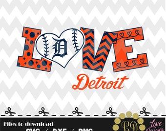 Detroit Tigers baseball svg,png,dxf,cricut,silhouette,jersey,shirt,proud,birthday,invitation,sports,cut,girl,love,softball,2018 new,decal
