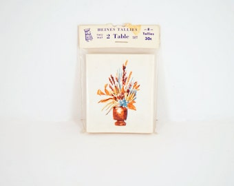 Tally Cards - Bridge