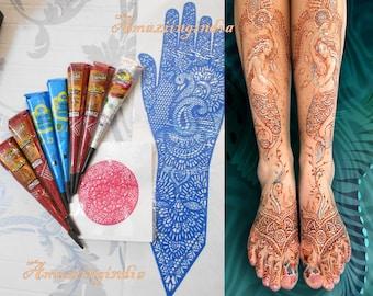 Henna Tattoo Thailand : Naka tattoo studio henna tattooing