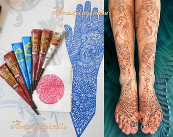 Henna Tattoo Kits Uk : Henna kit etsy