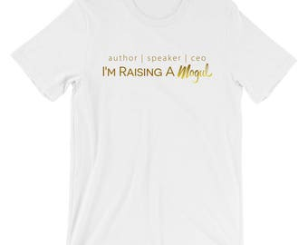 Author| Speaker| CEO T-Shirt- Gold