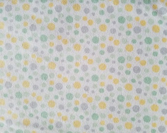 Hayden Dot Print Flannel Fabric by the yard