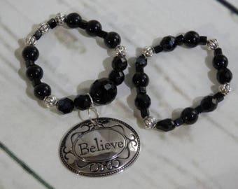 Source d'inspiration crois Duo Bracelets extensibles