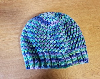 Cold Spring Lace Hat Knit