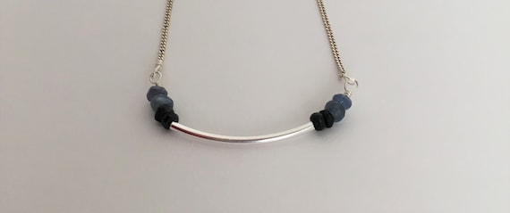 S - 651 Sapphire necklace