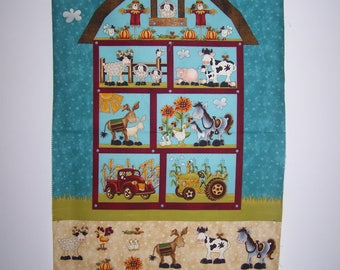 McAnderson's Farm Panel With Coordinating Fabric