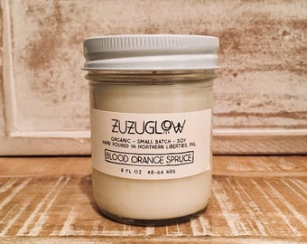 Blood Orange Spruce Scented Candle