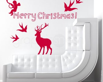 Wall decals CHRISTMAS SET - Surface graphics by Decals Murals
