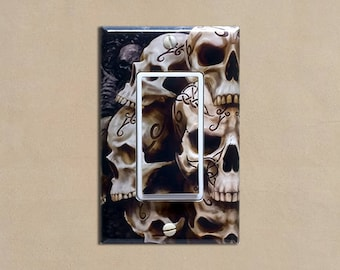 Skulls #2 - Light Switch Plate Covers Home Decor Outlet