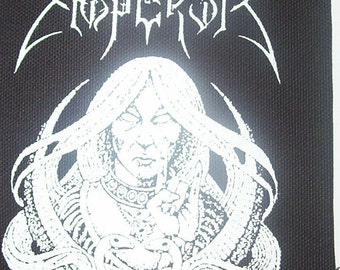 EMPEROR patch black metal Free Shipping