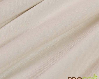 ProECO® Organic Cotton Interlock Fabric (Natural, sold by the yard)