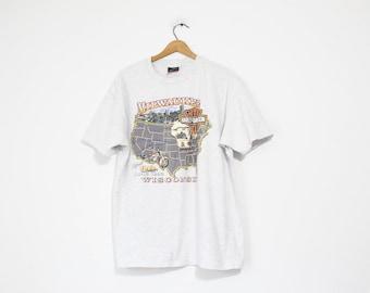 Vintage Harley Davidson Milwaukee Wisconsin T Shirt
