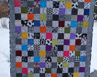 """Lap Quilt - Spring Thaw  48-1/2"""" x 62-1/2"""""""