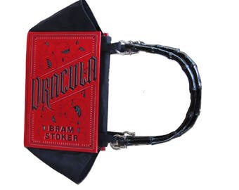 Dracula - Bram Stoker - Leather Book Purse - Made to Order