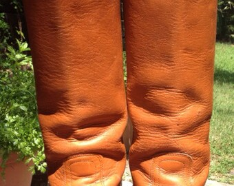 Frye Leather Campus Boots Size 7B