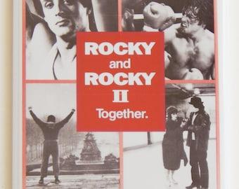 Rocky Double Feature Movie Poster Fridge Magnet