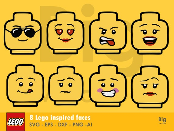 photograph regarding Lego Faces Printable referred to as Lego Male Brain Hair Svg