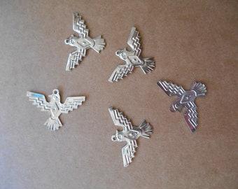 Metal Southern Eagles - Birds  - Set of 10