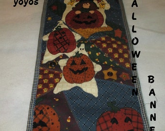 HALLOWEEN, WITCH, Mini QUILT, Holiday Decor, Home Décor, Hostess Gift