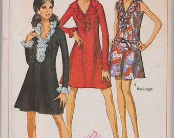 Vintage Sewing Pattern, Dress Pattern, THEATRE, Simplicity 7746, Bust 36, 1960s