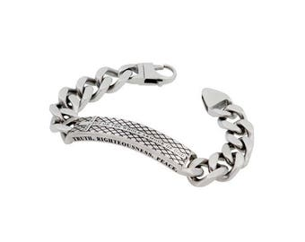 "Diamond Back Bracelet ""Armour Of God"