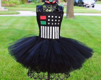 Darth Vader Short Tutu Dress