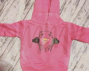 Super Girl Childrens Hoodie
