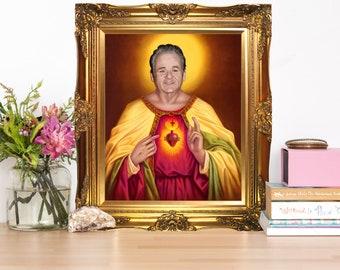 Bill Murray Jesus Christ Artwork