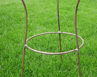 Tall Commercial Grade, Antique Style Metal Herbaceous Perennial Plant Support made From 8mm Bar