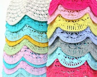 Crochet abat-jour - Choisissez votre couleur