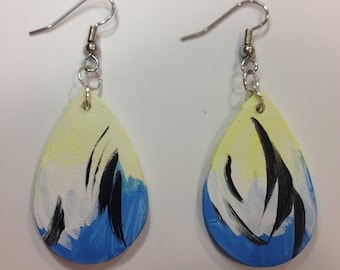 Tear drop earrings - 'Henley'