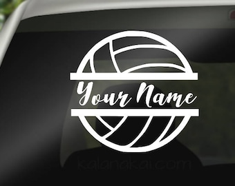 Personalized Volleyball Mom Decal, Volleyball, Volleyball Car Decal, Volleyball Player Decal, Volleyball auto decal, volleyball, sticker